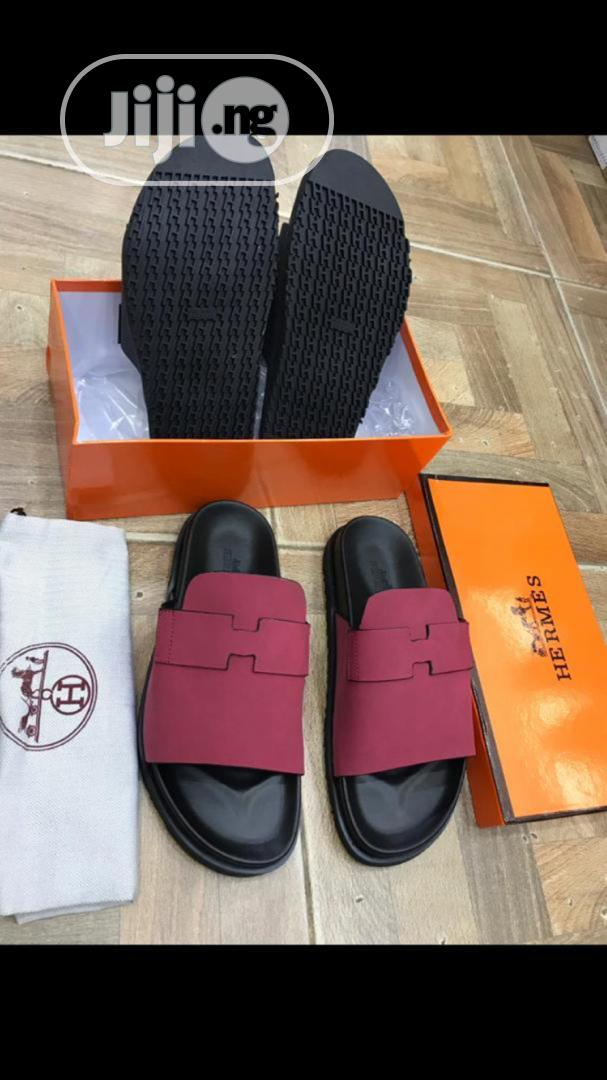 Designer Herms Palm Slippers | Shoes for sale in Lagos Island (Eko), Lagos State, Nigeria