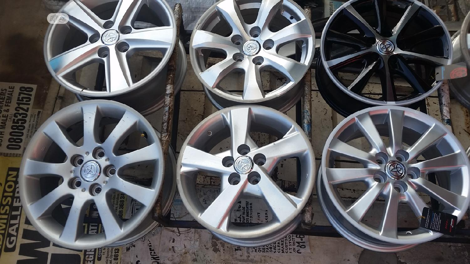Set Of Alloy Rin For All Cars