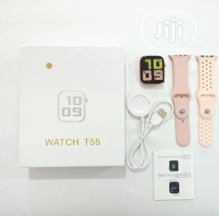 Andriod Smart Watch And Fitness Tracker | Smart Watches & Trackers for sale in Ikeja, Lagos State, Nigeria
