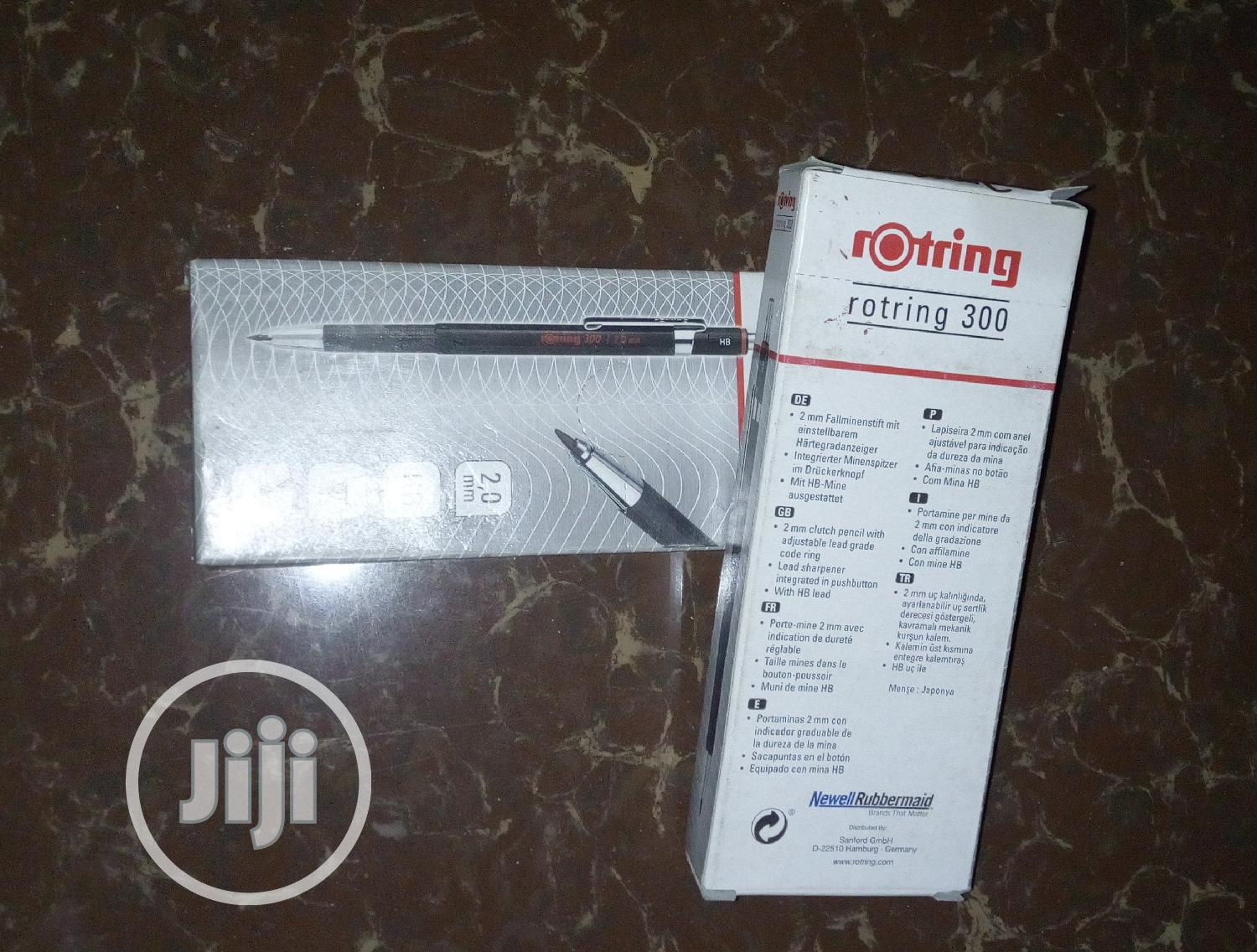 Rotring 300 2.0mm HB | Stationery for sale in Lagos Island (Eko), Lagos State, Nigeria