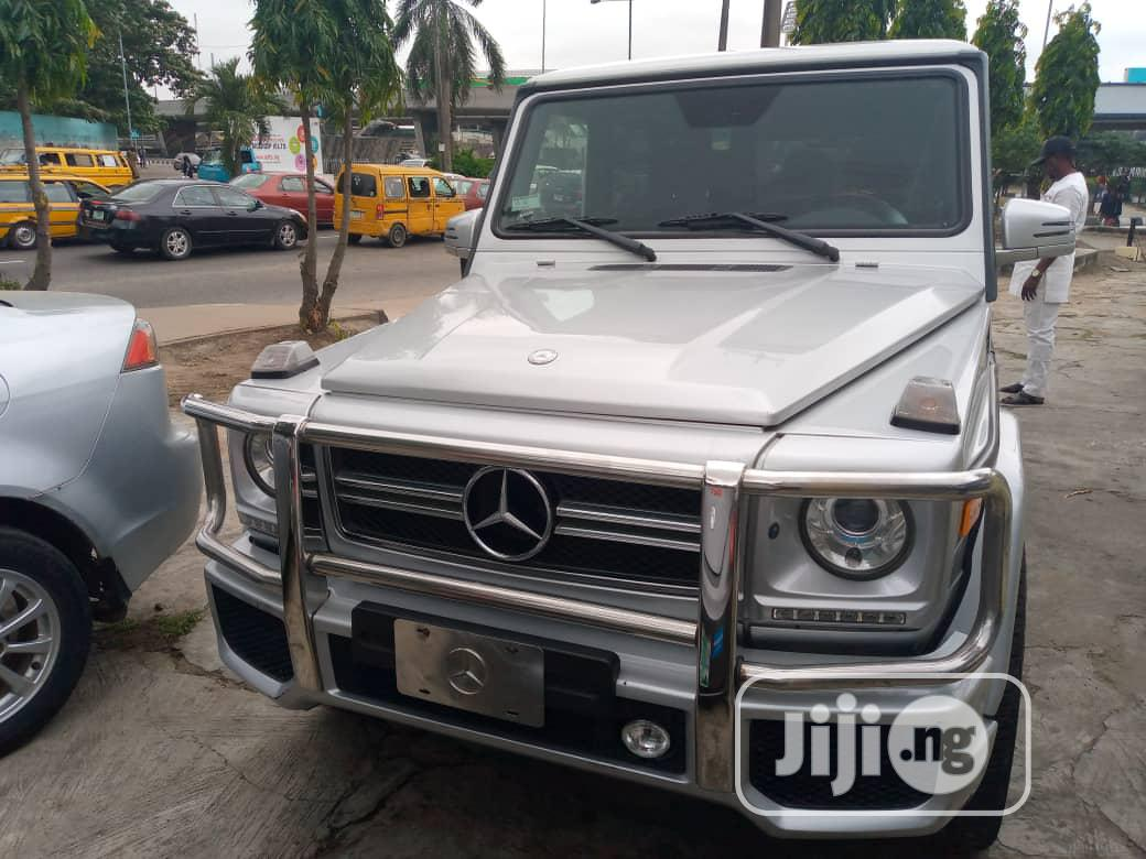 Archive Mercedes Benz G Class 2010 Base G 55 Amg 4x4 Silver In Victoria Island Cars Purity Cars Jiji Ng