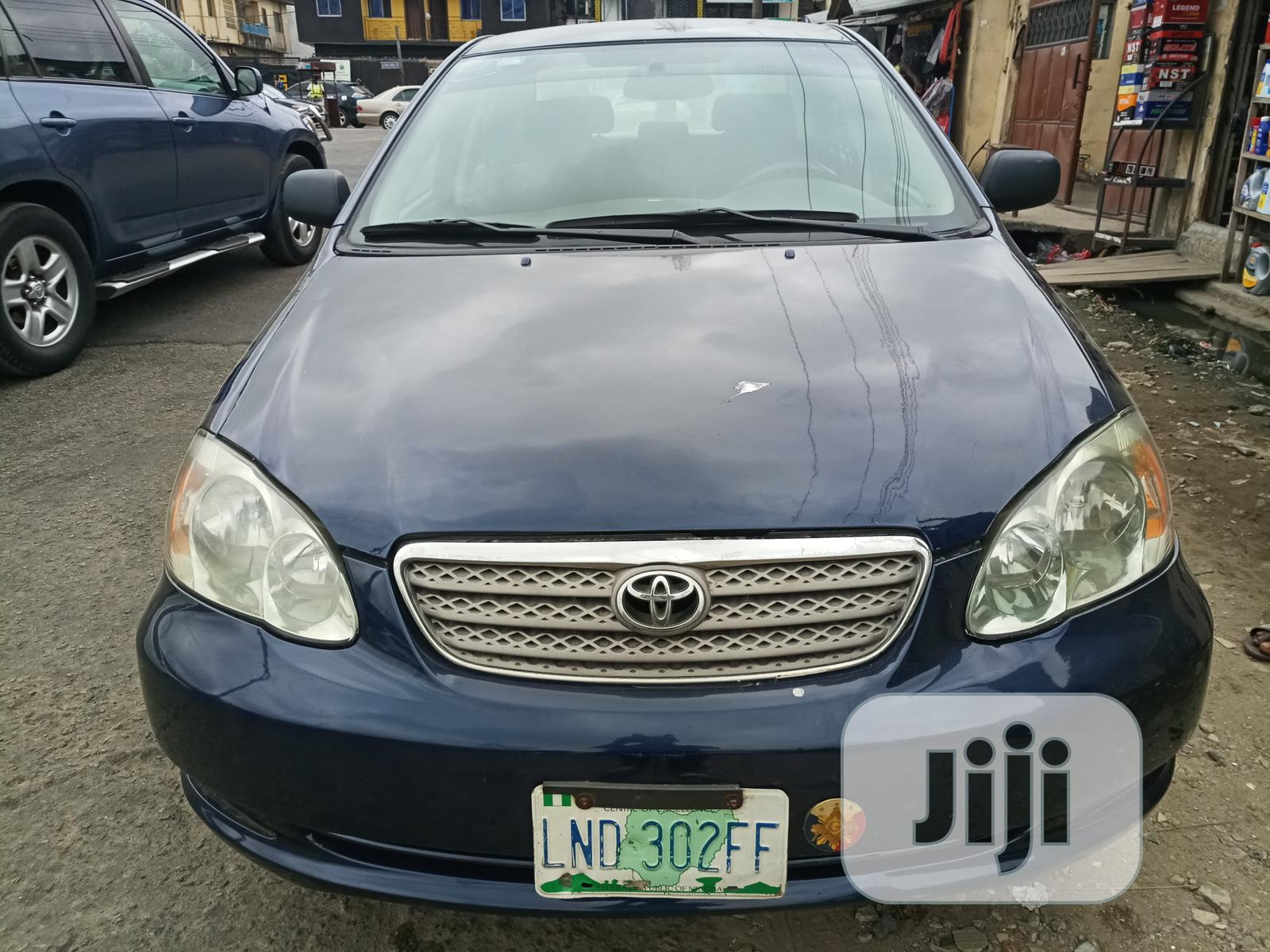 Toyota Corolla 2005 Le Blue In Surulere Cars Eze Theophilus Jiji Ng For Sale In Surulere Buy Cars From Eze Theophilus On Jiji Ng