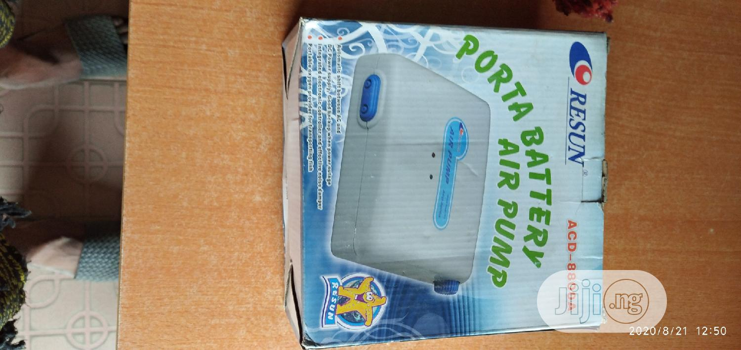 Porta Battery Air Pump | Pet's Accessories for sale in Surulere, Lagos State, Nigeria