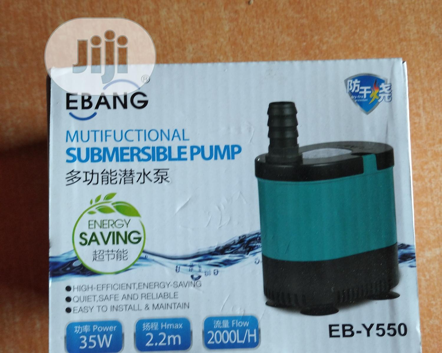 Submersible Pump | Pet's Accessories for sale in Surulere, Lagos State, Nigeria