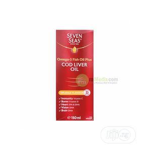 Seven Seas Cod Liver Oil Plus Omega-3 Fish Oil | Vitamins & Supplements for sale in Lagos State, Ipaja
