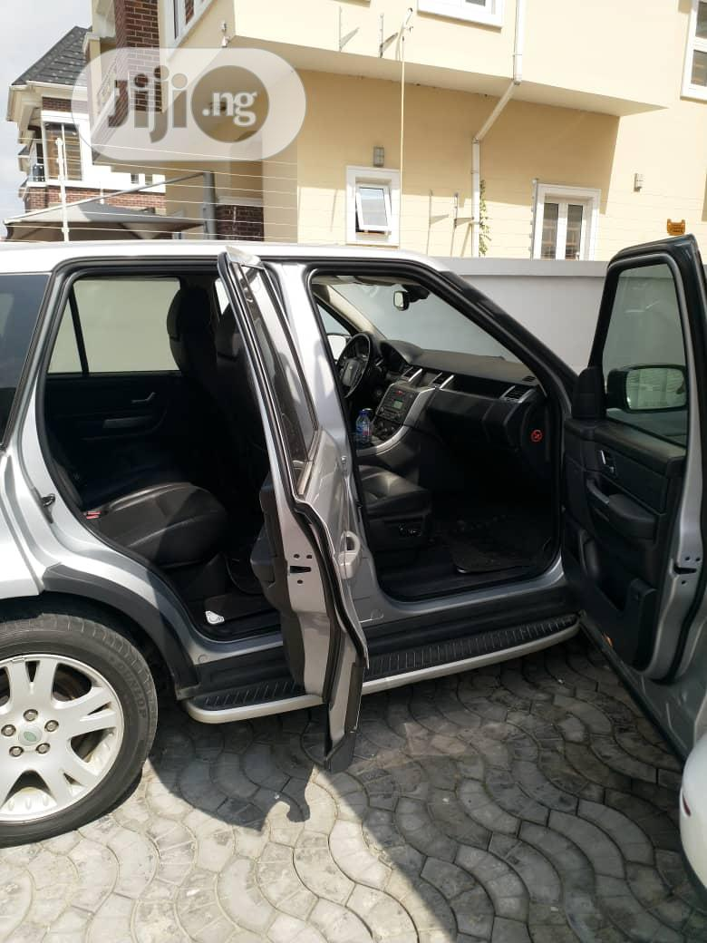 Land Rover Range Rover Sport 2007 HSE 4x4 (4.4L 8cyl 6A) Gray | Cars for sale in Mushin, Lagos State, Nigeria
