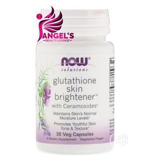 Now Foods Solutions Glutathione Skin Brightener 30 Capsules | Vitamins & Supplements for sale in Lagos State, Ojo