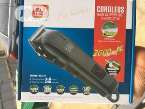 Rechargeable Hair Clipper | Tools & Accessories for sale in Lagos State, Alimosho