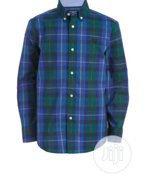 Chaps Boy's Checkered Shirt (10-20yrs)   Children's Clothing for sale in Lagos State, Ikeja