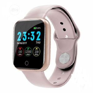 Heart Rate Monitor Bt Call Wrist Smart Watch With Bluetooth   Smart Watches & Trackers for sale in Lagos State, Ikeja