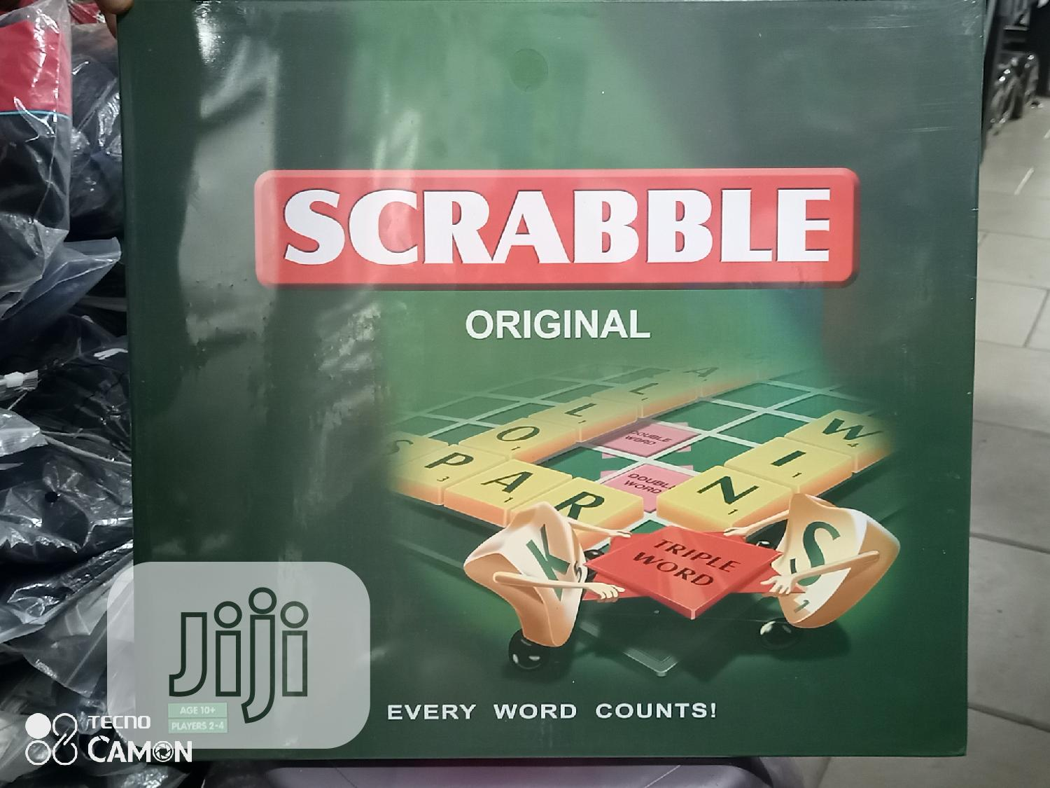 Original Scrabble Board Game Available | Sports Equipment for sale in Port-Harcourt, Rivers State, Nigeria