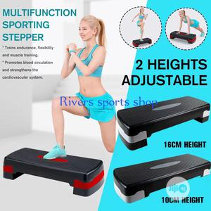 AEROBIC STEPPER for Gym and Home Workout and Yoga Exercise   Sports Equipment for sale in Rivers State, Port-Harcourt