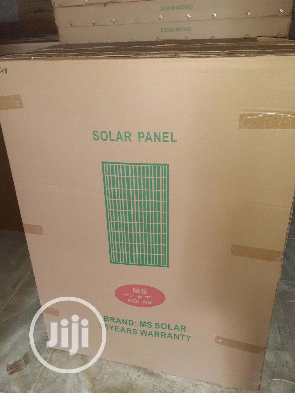 200w Solar Panels Mono Available