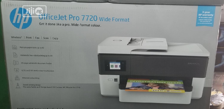 Archive: Hp Officejet Pro 7720 Wide Format Printer
