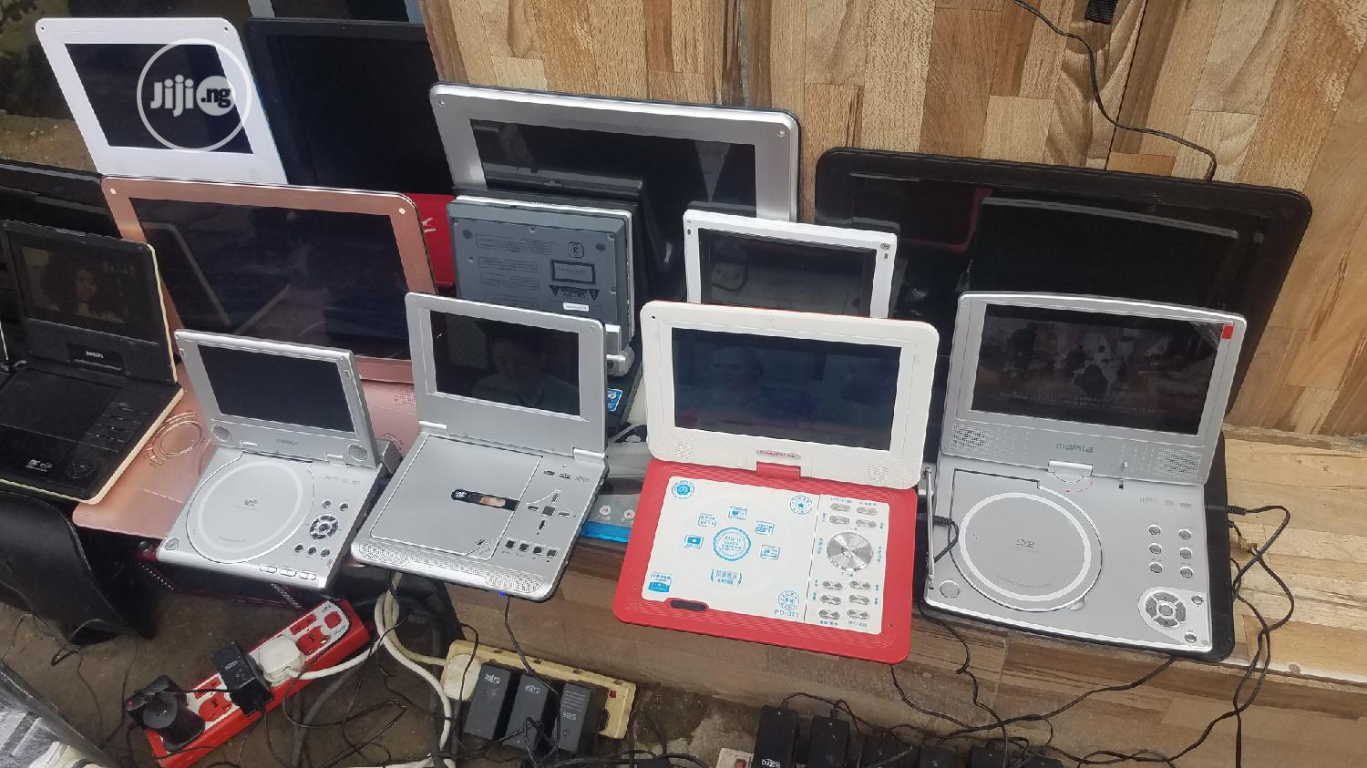 PORTABLE DVD PLAYER With Laptop Display Screen | TV & DVD Equipment for sale in Ojo, Lagos State, Nigeria