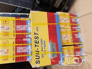 12v 150ah Sun Test Battery Available Now In | Solar Energy for sale in Lagos State, Ojo