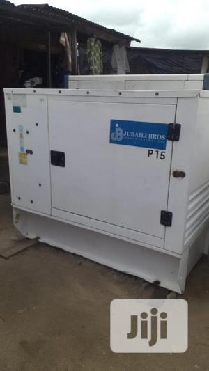 Perkins Engine Jubaili Bros Diesel Generator Set 15kva | Electrical Equipment for sale in Rivers State, Port-Harcourt
