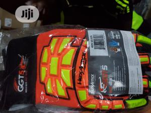 Hexarmor GGT5 Series 4021X High Vis Work Gloves   Safetywear & Equipment for sale in Rivers State, Port-Harcourt