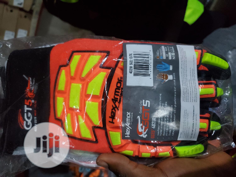 Hexarmor GGT5 Series 4021X High Vis Work Gloves | Safetywear & Equipment for sale in Port-Harcourt, Rivers State, Nigeria