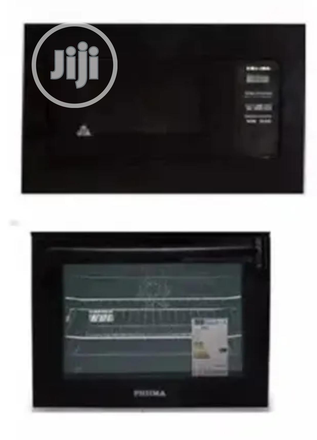 Phiima Built-in Gas And Electric Oven + Microwave