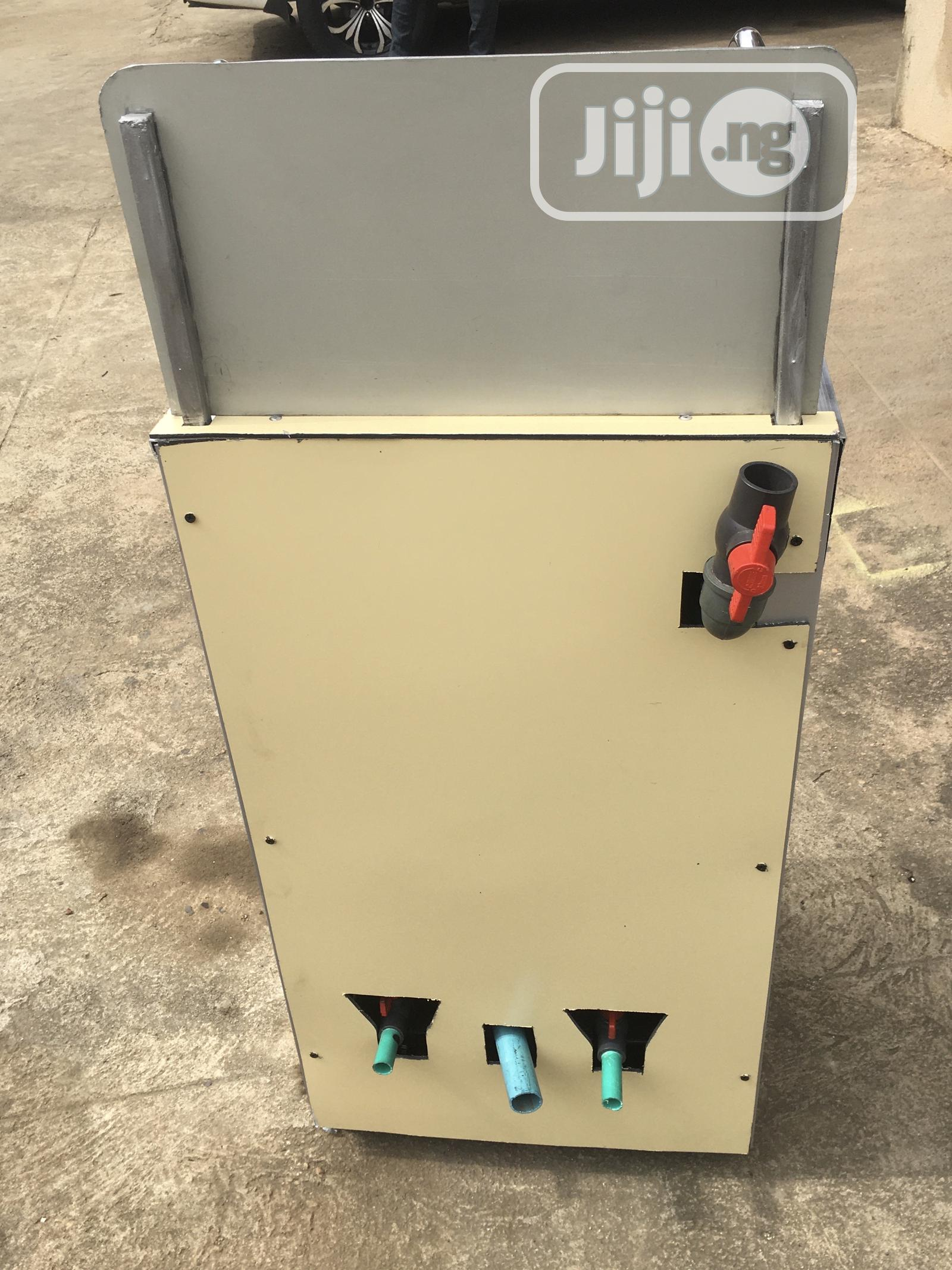 Customized Foot Operated Sanitizing Safety Booth   Safety Equipment for sale in Alimosho, Lagos State, Nigeria