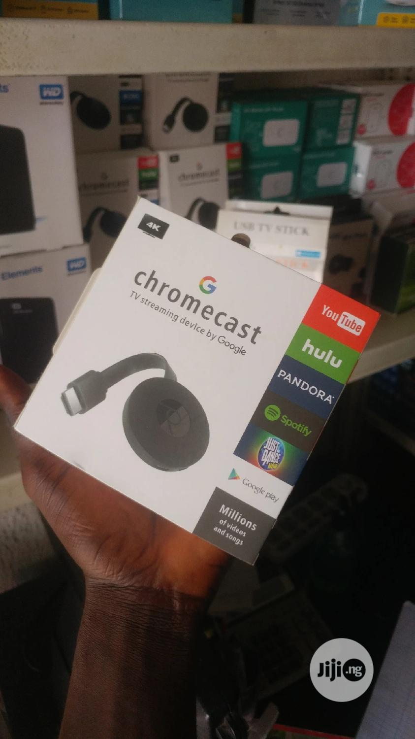 Chromecast Wifi 4K 1080P HDMI From Smartphones/Laptops To TV