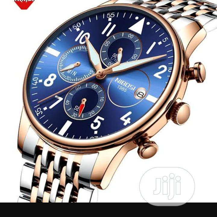 Chronograph Watch. Business Watch