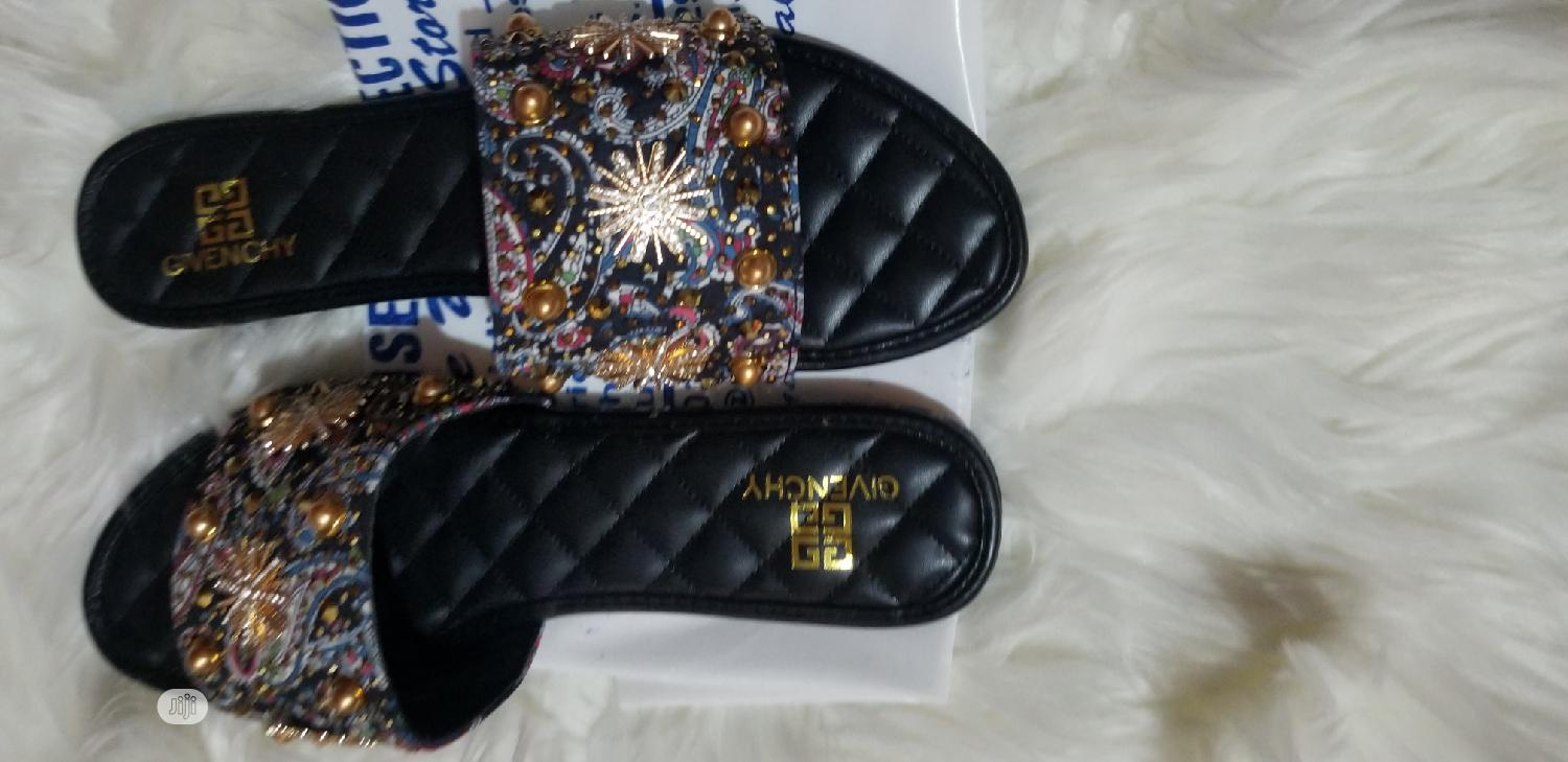 Quality GIVENCHY Slippers For Ladies/Women | Shoes for sale in Lekki, Lagos State, Nigeria