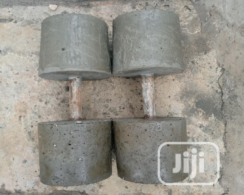 50kg Dumbbells | Sports Equipment for sale in Gwagwalada, Abuja (FCT) State, Nigeria