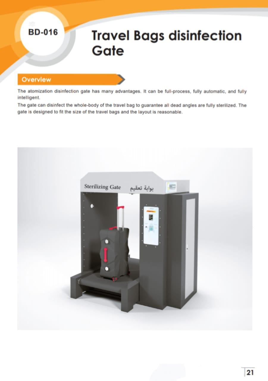 Mobile Thermometry Disinfection Channel For Public Places | Medical Supplies & Equipment for sale in Amuwo-Odofin, Lagos State, Nigeria