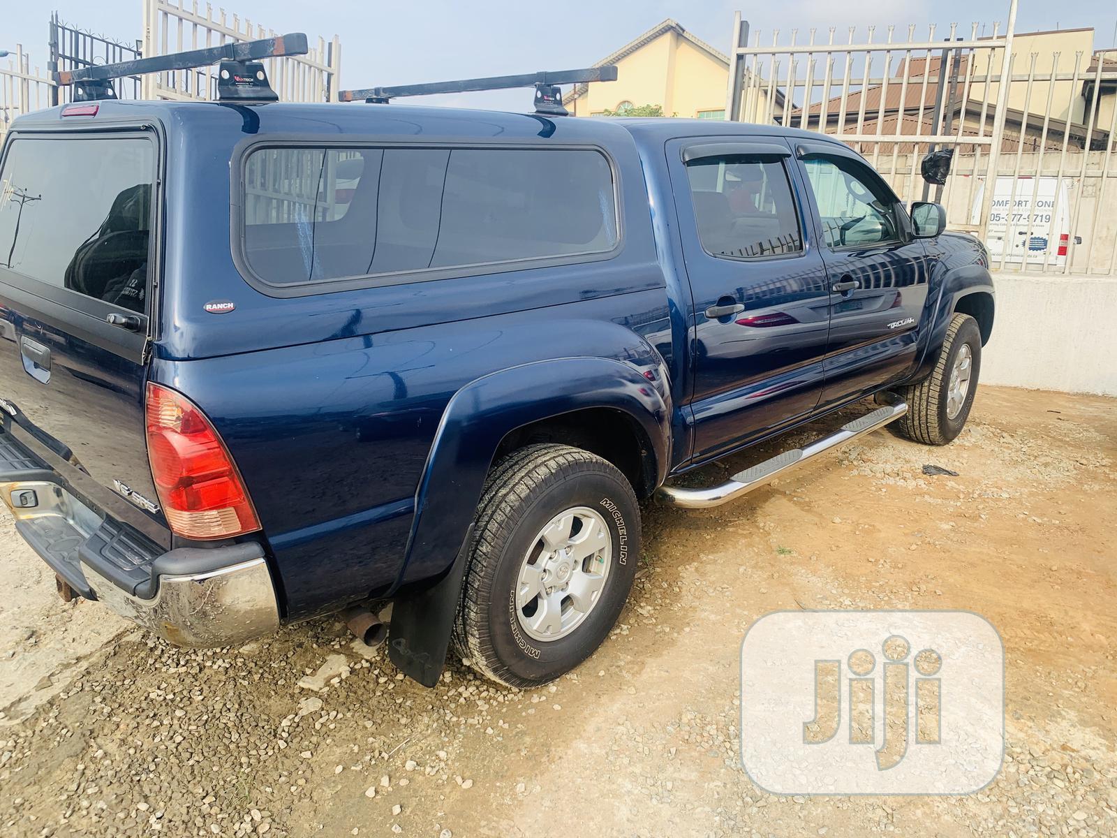 Toyota Tacoma 2006 Access Cab Blue | Cars for sale in Ikeja, Lagos State, Nigeria