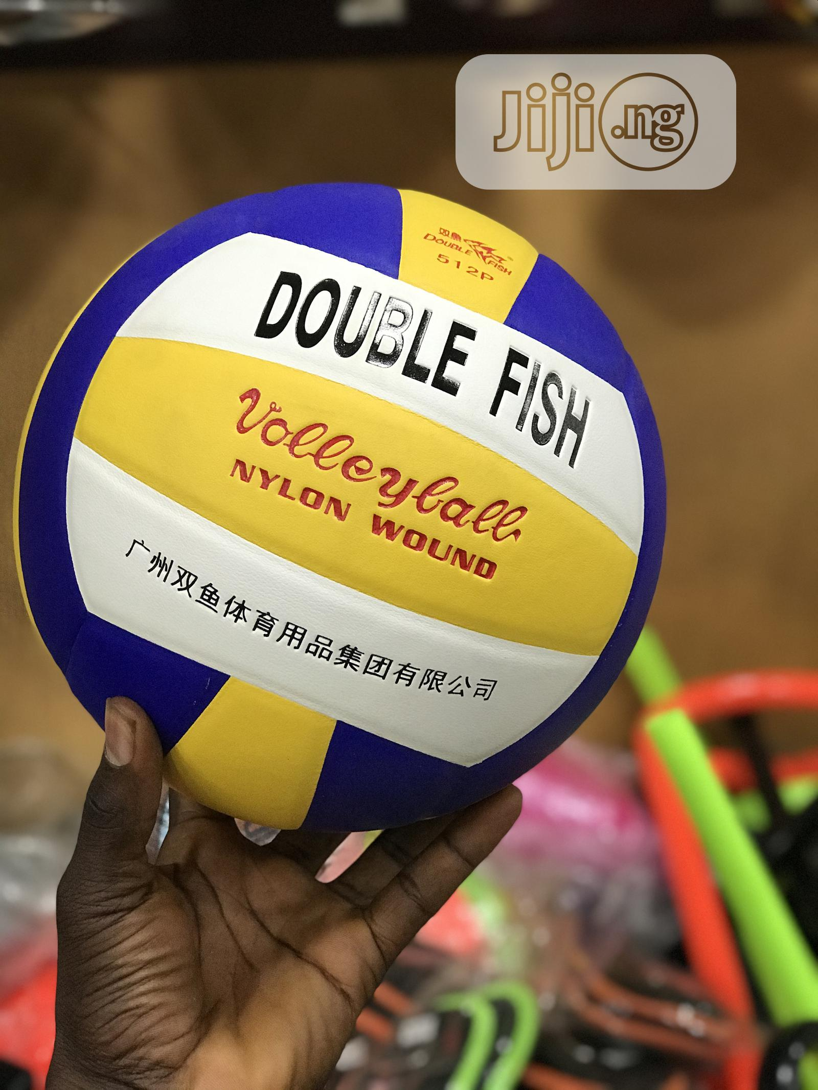 Double Double Fish Volleyball