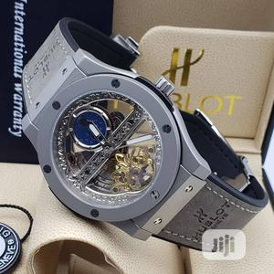 Hublot Automatic Automatic Arch Rubber Strap Watch | Watches for sale in Lagos State, Lagos Island (Eko)