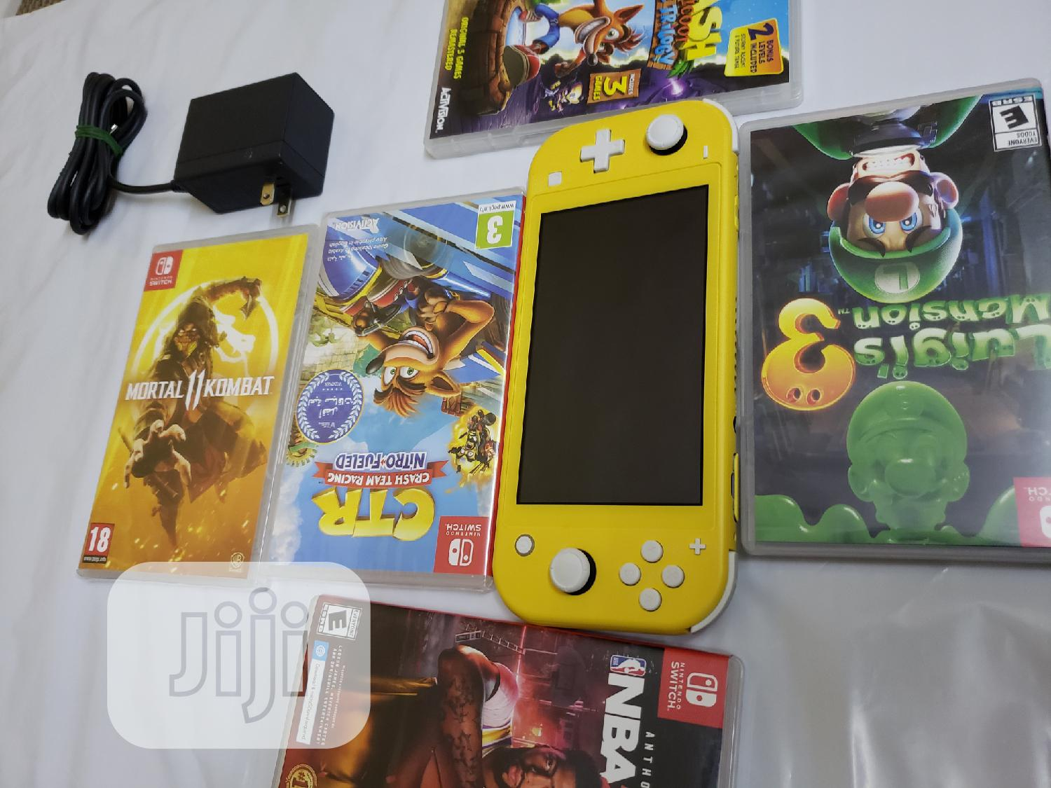Archive: Nintendo Switch Lite Yellow Color