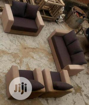 Home And Office Upholstery Chairs Brown | Furniture for sale in Oyo State, Ibadan
