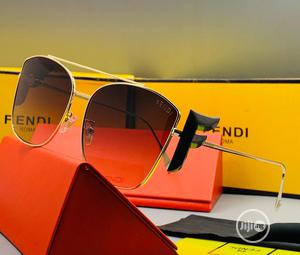 Original Fendi Sunglasses Gold | Clothing Accessories for sale in Lagos State, Lagos Island (Eko)