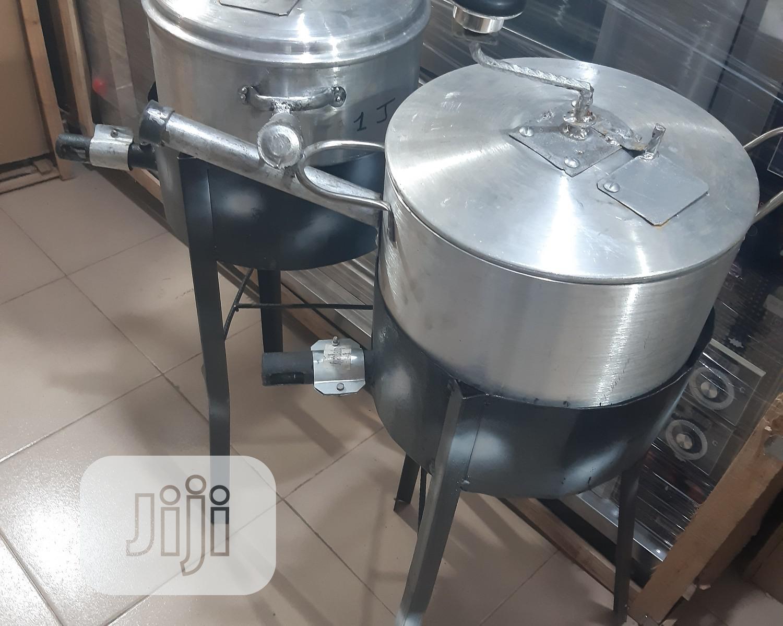 Archive: Gas Fabricated Popcorn Machine