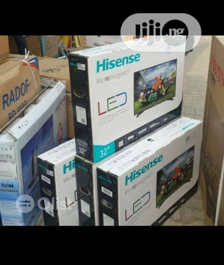 Hisense 32 Inches Led Tv. 3pcs