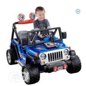 Fisher Price Power Wheels Hot Wheels Jeep Wrangler - 12 Volt | Toys for sale in Lagos State, Ikeja
