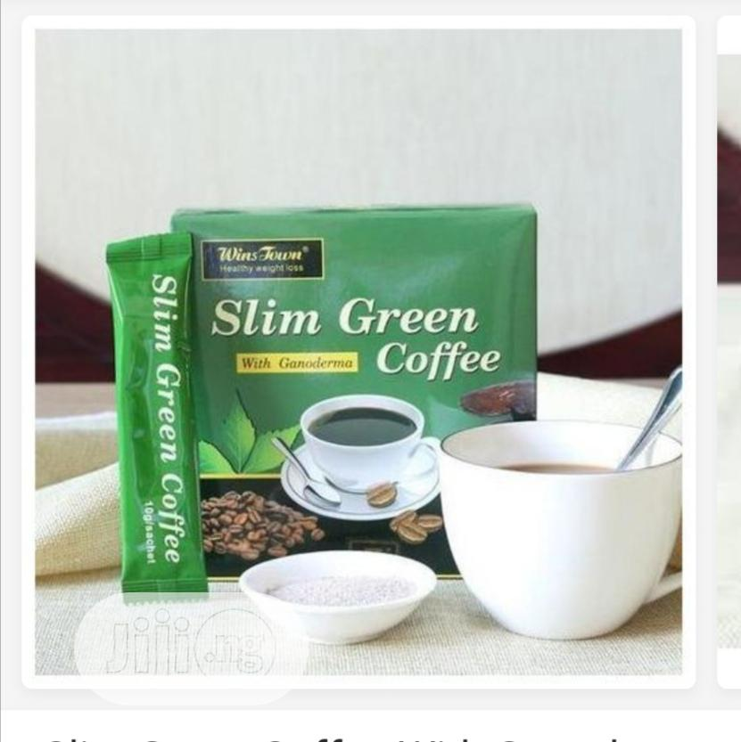 Slim Green Coffee With Ganoderma Weight Loss Green Coffee | Vitamins & Supplements for sale in Lagos Island (Eko), Lagos State, Nigeria