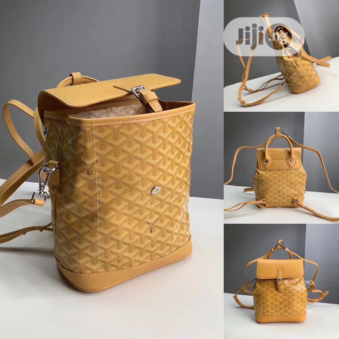 Goyard Designer Backpack Bag   Bags for sale in Lagos Island (Eko), Lagos State, Nigeria
