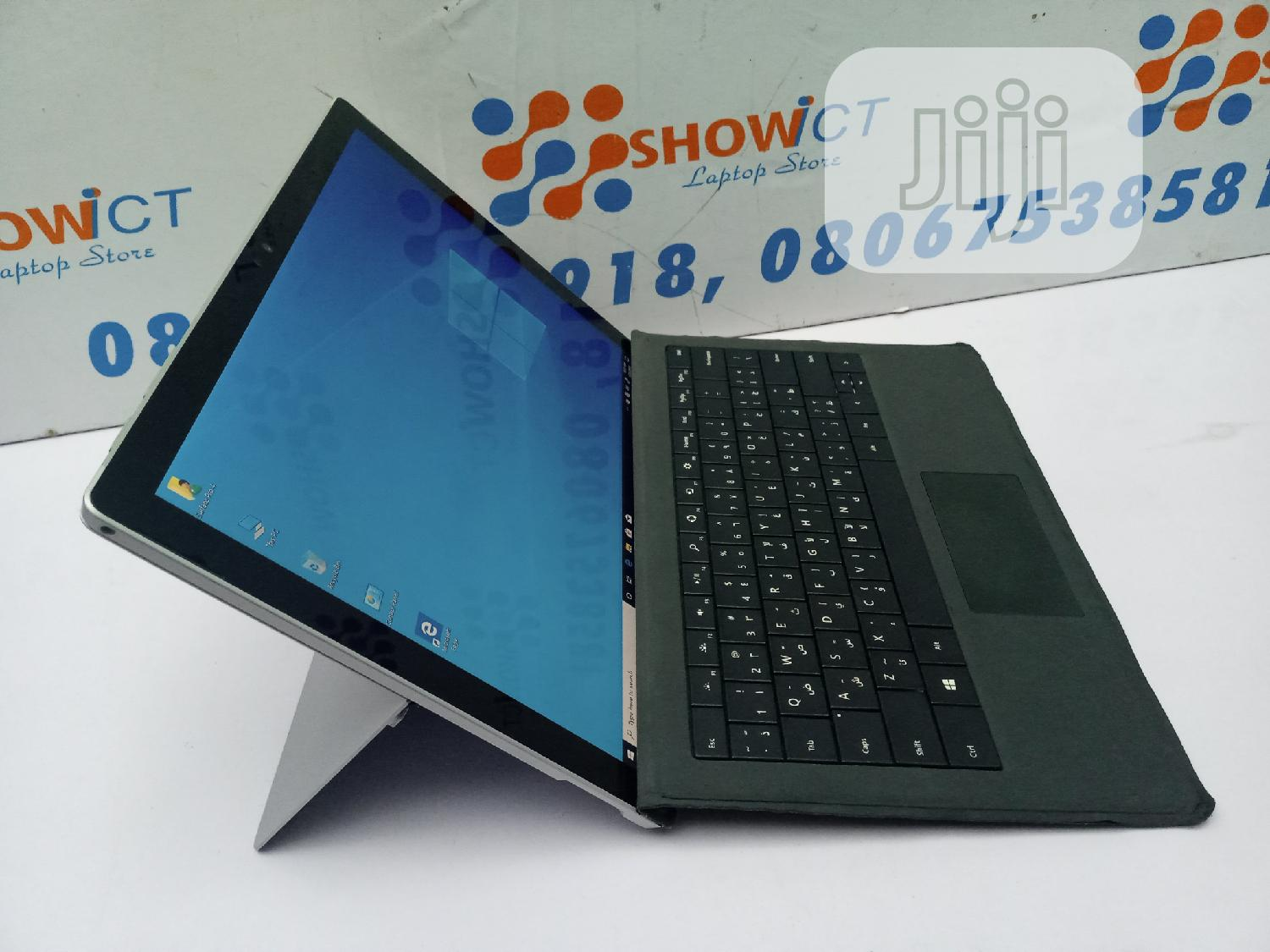 Laptop Microsoft Surface Pro 4 8GB Intel Core i5 SSD 256GB   Laptops & Computers for sale in Ikoyi, Lagos State, Nigeria