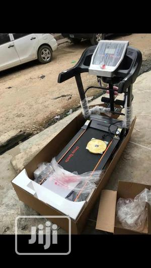 Premium Quality Treadmills With Twister, Massager, Dumbbell | Sports Equipment for sale in Lagos State, Gbagada