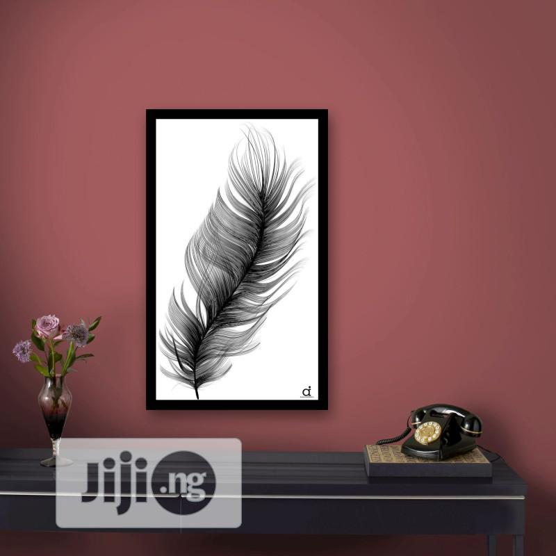 Archive: Fluffy Feather Wall Frames (17x11 Inches)