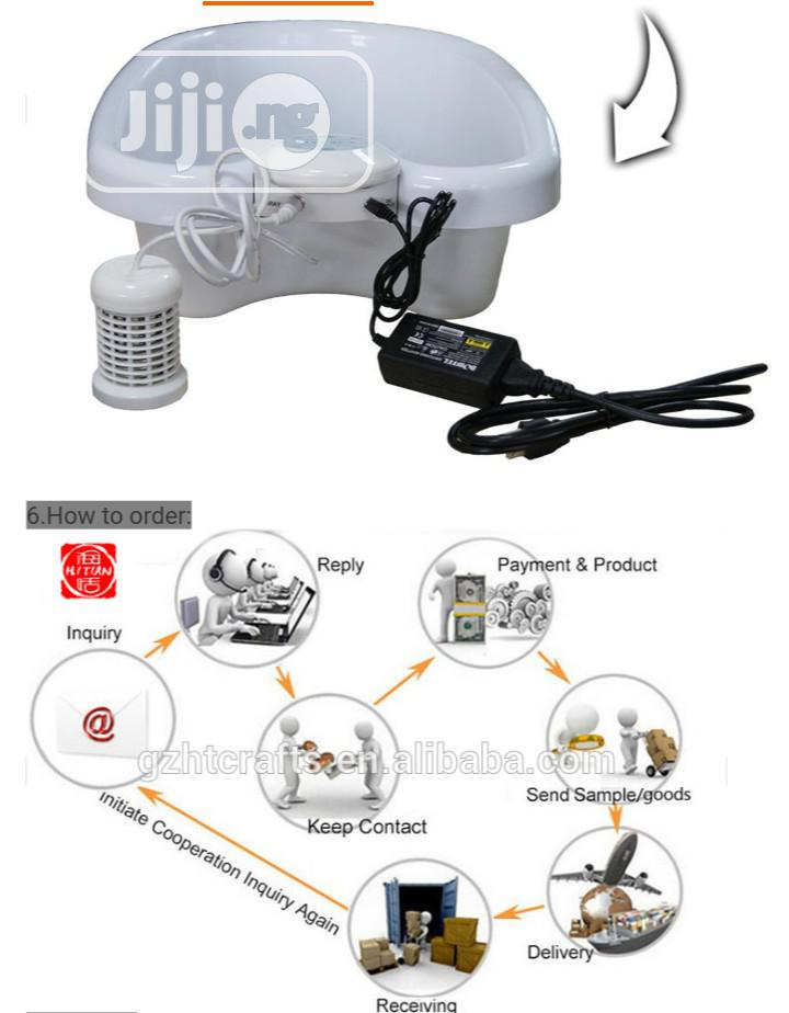 Ion Cleanse Foot Spa Machine Ionic Detox Foot Spa