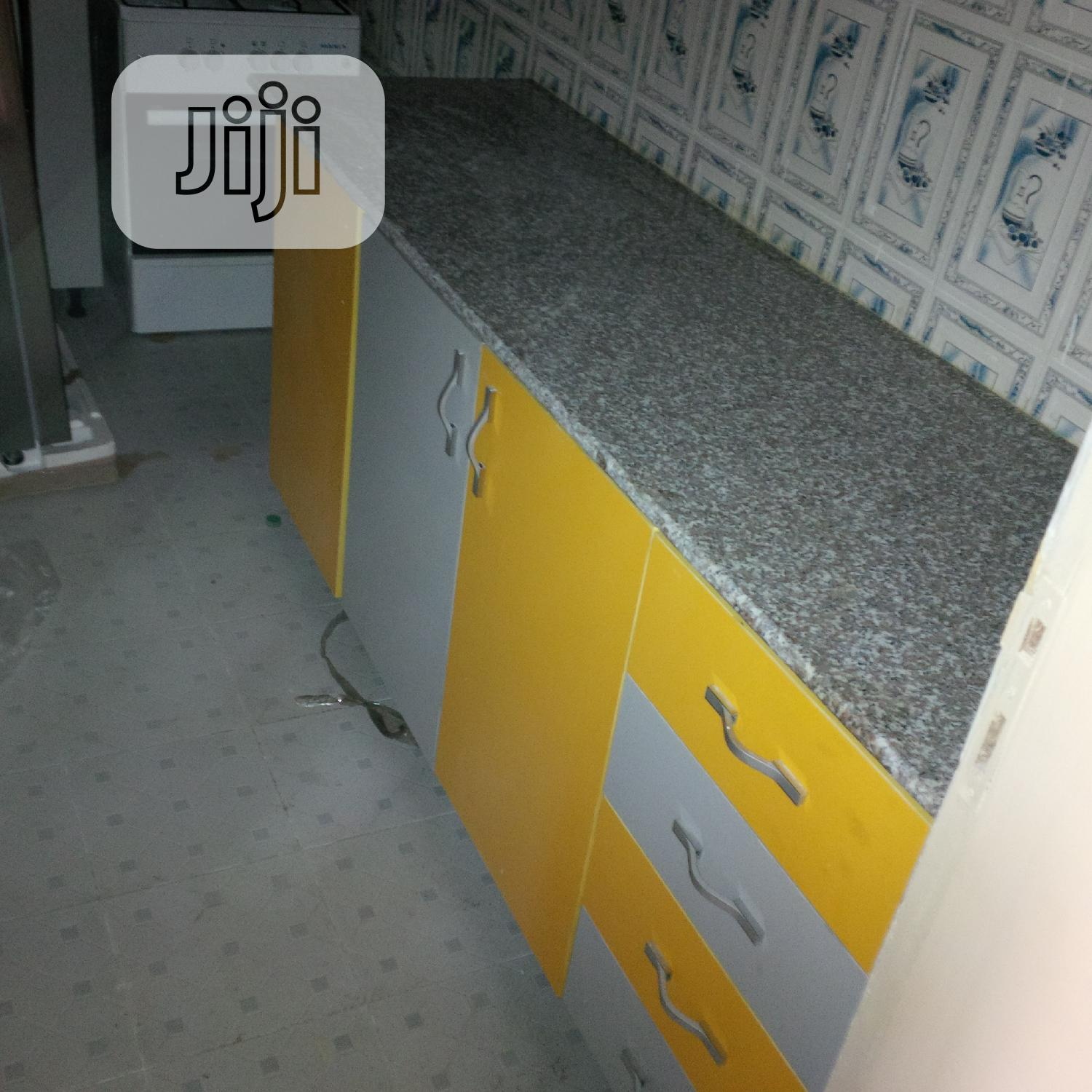 Kitchen Countertops With Pink Marble And Granite In Amuwo Odofin Building Trades Services Aqualine Water Technology Jiji Ng