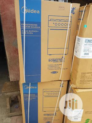 Midea 3gass 1electric Oven Standing Cooker With Oven   Kitchen Appliances for sale in Lagos State, Ojo