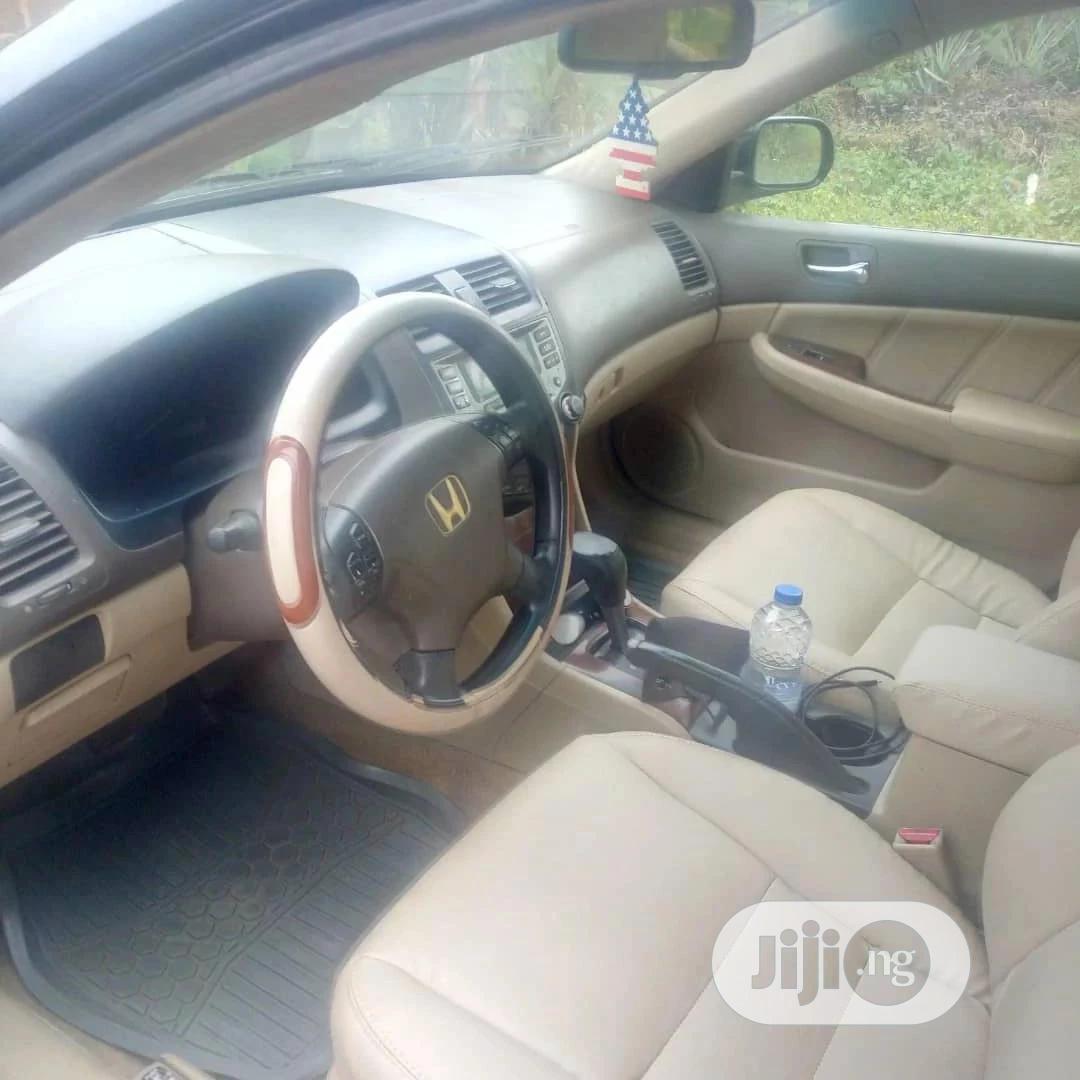 Honda Accord 2.0 Comfort Automatic 2006 Black   Cars for sale in Ibadan, Oyo State, Nigeria