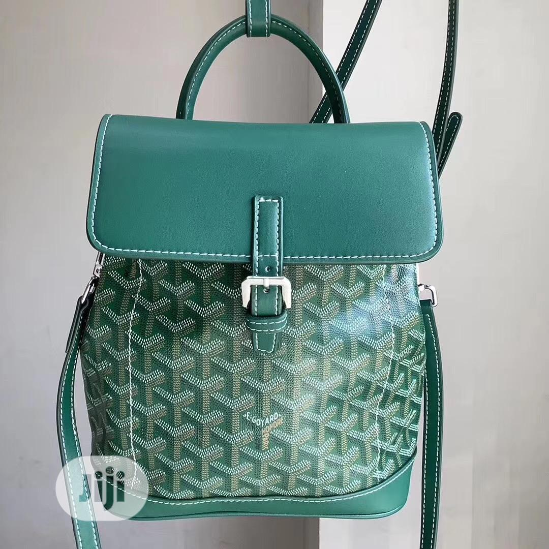 Alpin Mini Backpack by Maison GOYARD (Green)