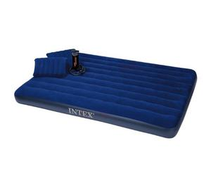 Inflatable Bed/Mattress With Two Pillows And Hand Pump | Furniture for sale in Lagos State, Ikeja